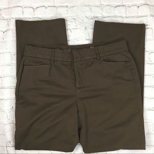 JM Collection Brown Stretch Women's Pants Sz 14W